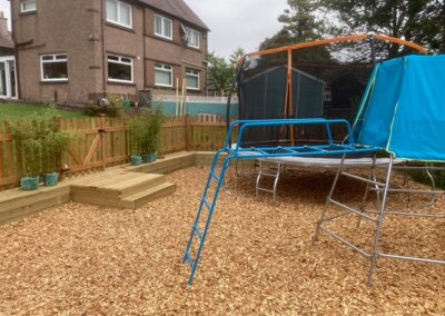 Completed Garden Play Area